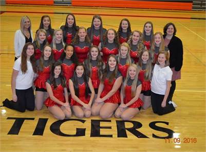 Marshall Tiger Dance Team Hometown Show