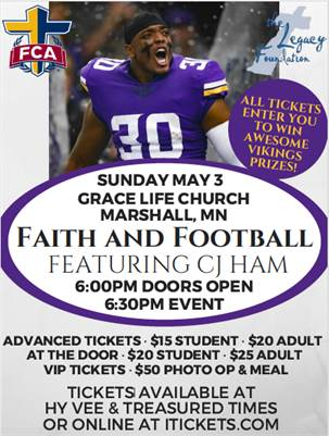 Faith and Football featuring CJ Ham